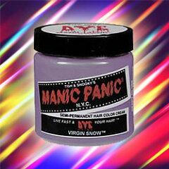 鮮やかな発色の酸性ヘアカラー 【BSP】マニックパニック ヘアカラー MC11033 ヴァージンスノ...
