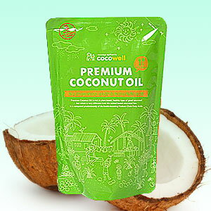 調理油に適した食用ココナツオイル!炒め油・揚げ油にも!【BSP】ココウェル プレミアムココナ...