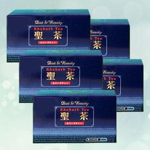 【BSP】【送料無料】【5箱】十種類のハーブをブレンド! 聖茶ルバーブティー