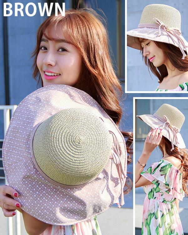 麦わら帽子むぎわら中折れ帽子UV紫外線対策日よけ帽子レディース女性用大きいサイズ女優帽