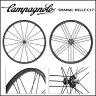 カンパニョーロ(campagnolo) ホイール SHAMAL MILLE C17 WO(フロント+リア)シマノ(136428)