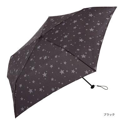 【because/公式】スーパーライト/スターミニ【軽量/90g/折りたたみ傘/雨傘/コンパクト/スリム/ギフト/レディース/ユニセックス/男女兼用/ビコーズ】