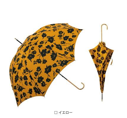 【because公式】モノカラーフラワー【長傘/雨傘/UVカット/レディース/通勤/通学/ビコーズ】
