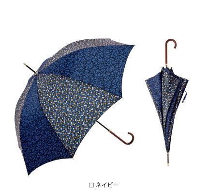 【because公式】リトルフラワー【長傘/雨傘/UVカット/レディース/通勤/通学/ビコーズ】