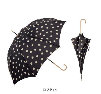 【because公式】ドット【長傘/雨傘/UVカット/レディース/通勤/通学/ビコーズ】