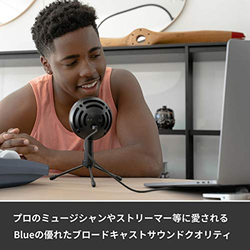 BlueMicrophones『SnowballiCE(BM200BK)』