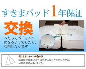 すきまパッドファミリーサイズ2台のつなぎ目をうめるベッド用すきまパッドすきまスペーサー段差がなくなる【時間指定対応】【1年保証】10P03Dec16