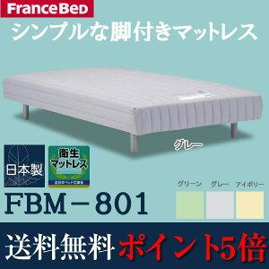 ポイント マットレス シングル フランスベッド ワイドシングルベット