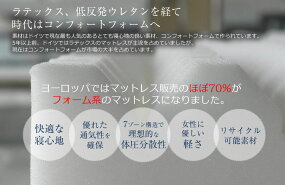 マットレスコンフォートフォームシングルディアモナフォーチュナプロ【送料無料】睡眠姿勢体圧分散