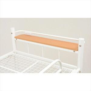ロフトベッド階段ロフトベットパイプベッドシステムベッドロフトベッドシングルベッド子供子供部屋KH-3025WH()【送料無料】