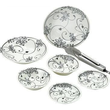 クラシカル サラダセット 洋陶器 洋陶皿 皿組合せセット 89745(代引不可)