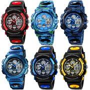 腕時計スポーツ子供用腕時計デジタルスポーツウォッチキッズウォッチジュニア女の子男の子中学生誕生日プレゼント可愛いおしゃれフォーマル
