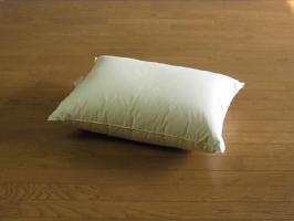 [高密度生地使用]ウォーターベッド用羽根枕50×70cm、別注OK、介護寝たきりに