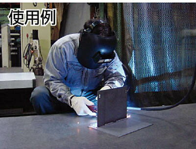 TRUSCO(トラスコ)溶接面プラスチック製直かぶりタイプ【1個】【TPWK】(溶接用品/溶接面)