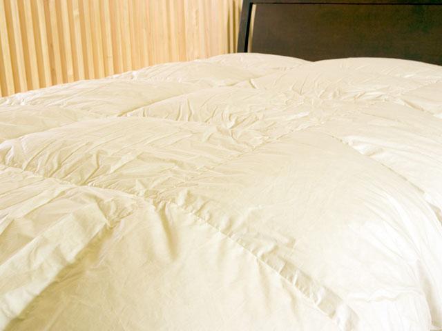 新生活 羽毛布団クイーンサイズ(ダブルベッド・ワイドダブルベッド対応):ベッド専門店 ビーナスベッド