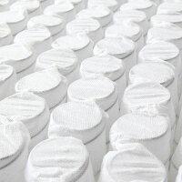 圧縮ロールパッケージ仕様のポケットコイルマットレス(クイーンサイズ)