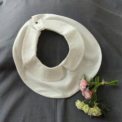 ◆上品な白丸襟☆付け襟 つけ襟◆フリーサイズ【セレブママ、お受験、結婚式、卒業式、卒園式、入学式、入園式、クリスマスパーティー、冠婚葬祭、お出かけに】