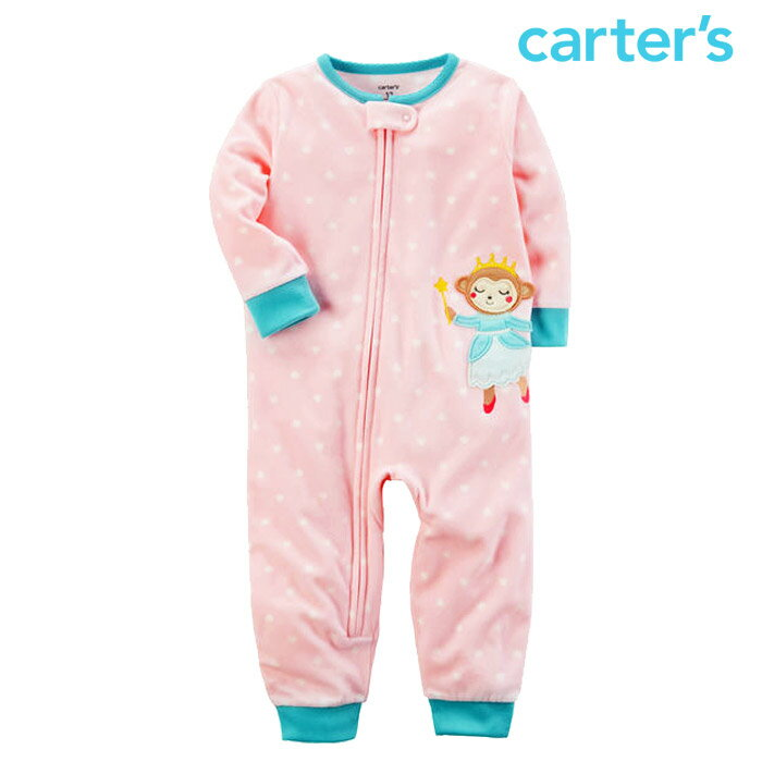 Carter's(カーターズ)『カバーオールフリースドット柄』