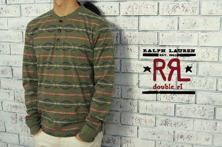 トップス, Tシャツ・カットソー  RRL DOUBLE RL LS TOLIVE