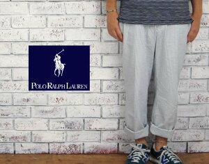 【POLO by Ralph Lauren】ラルフローレン シアサッカー ストライプ パンツ/BLUE/WHITE【あす楽...