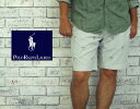 【POLO by Ralph Lauren】ラルフローレン マルチ テニス ラケット刺繍 ストライプ ショーツ/BLUE/WHITE【あす楽】