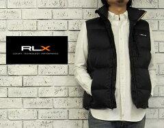 【RLX】 ラルフローレン RLX リップストップ ダウン ベスト/BLACK【あす楽】