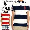 ��POLObyRalphLauren�ۥ��ե?���CUSTOMFIT�ޥ����֥������ݥ?���/NAVY/RED�ڤ������б���
