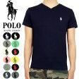 POLO by Ralph Lauren ラルフローレン ワンポイントポニー Vネック Tシャツ