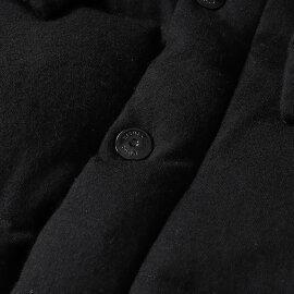 NANOUNIVERSE(ナノユニバース)×西川ダウンフード付きミリタリーウールダウンジャケットブラックS【メンズ】【K2077】【中古】【あす楽☆対応可】