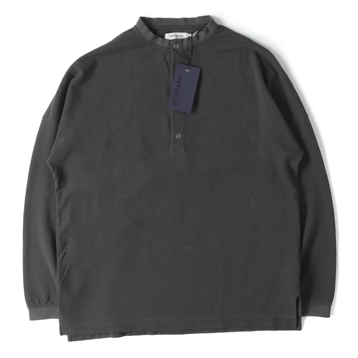 トップス, Tシャツ・カットソー NONNATIVE () T 19SS T CLERK HENLEY NECK LS TEE 2 K2487