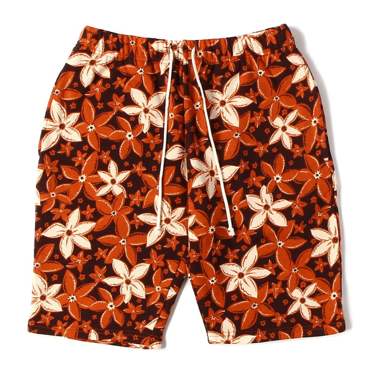 メンズファッション, ズボン・パンツ CALEE () 16SS ALLOVER PATTERN SWEAT SHORT PANTS M K2382