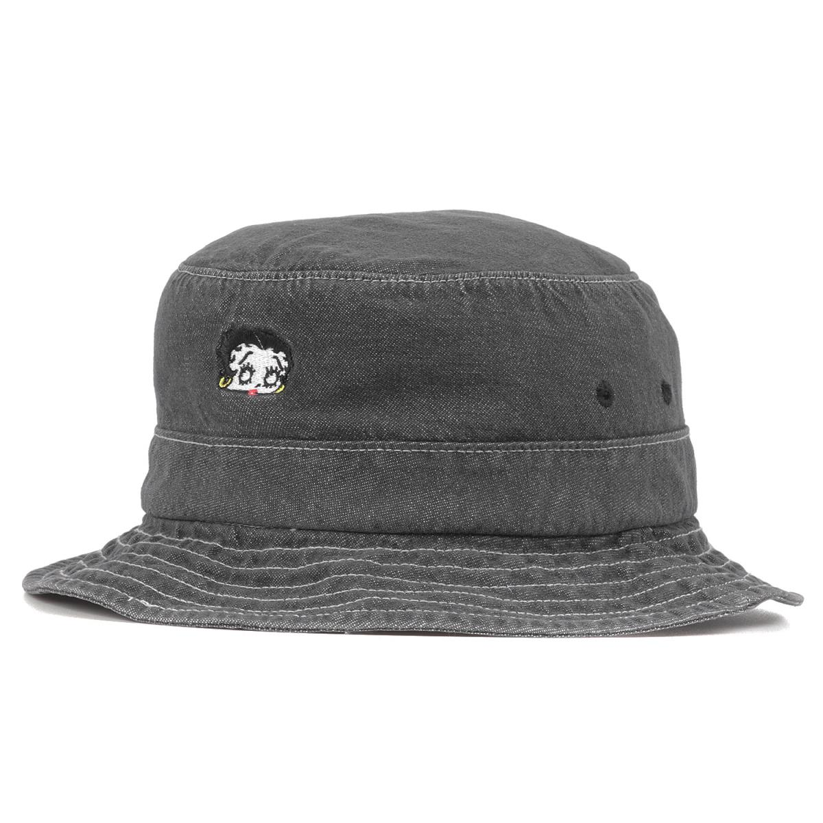 メンズ帽子, ハット Supreme 16SS Betty Boop Denim Crusher ML K2456