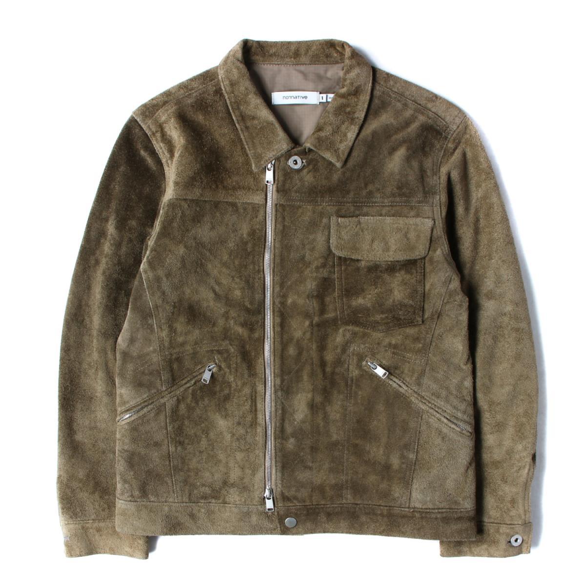 メンズファッション, コート・ジャケット NONNATIVE 16AW WORKER JACKET COW SUEDE 1 K2922
