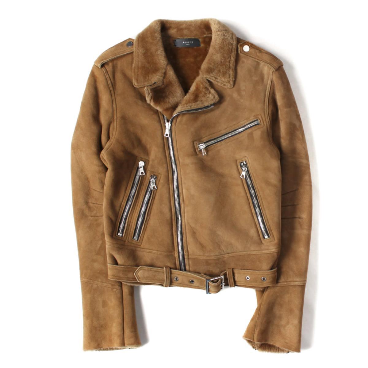 メンズファッション, コート・ジャケット AMIRI 17AW SHEARLING BIKER JACKET S K2600