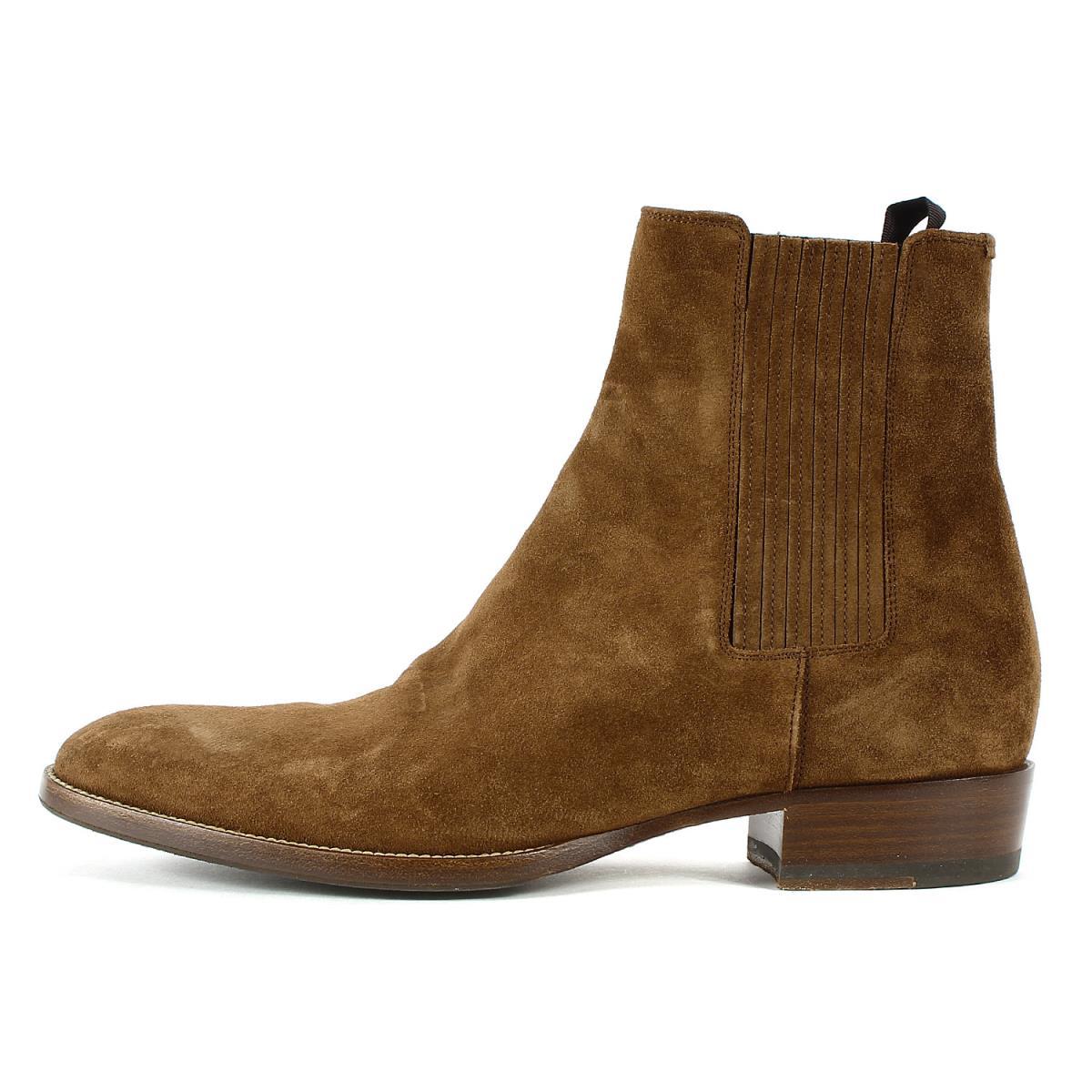 ブーツ, サイドゴア SAINT LAURENT PARIS 532806 41 K2616