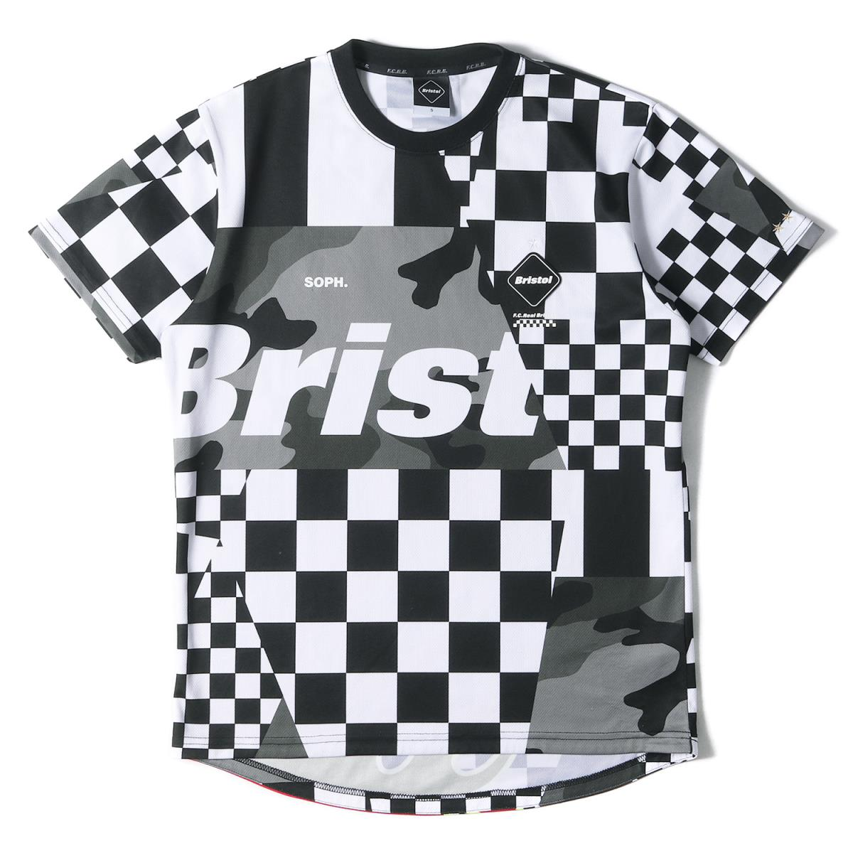 トップス, Tシャツ・カットソー FCRB T T MULTI PATTERN SS TEE 19SS S K2691