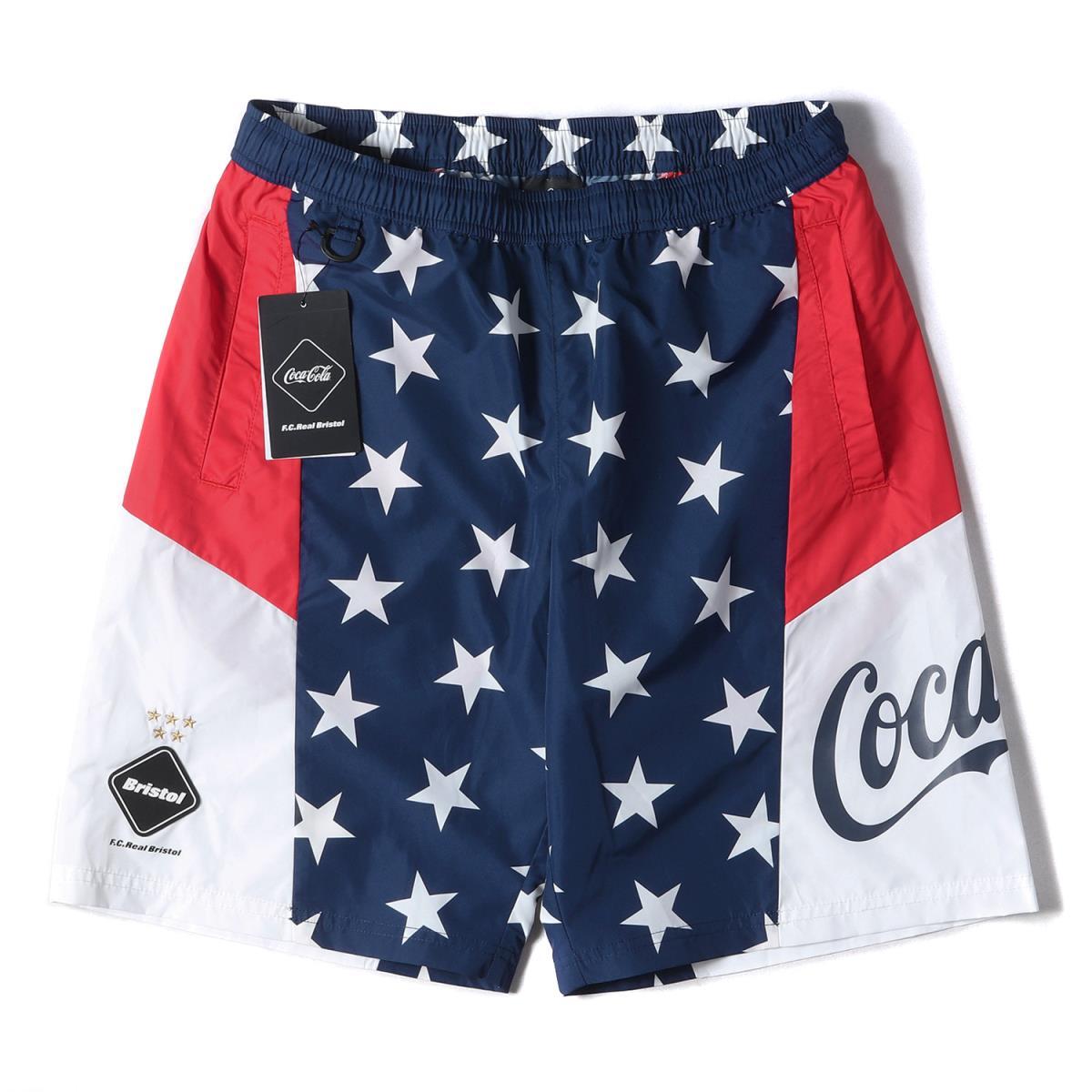 メンズファッション, ズボン・パンツ FCRB Coca-Cola MULTI PATTERN SHORTS 20SS S K3076