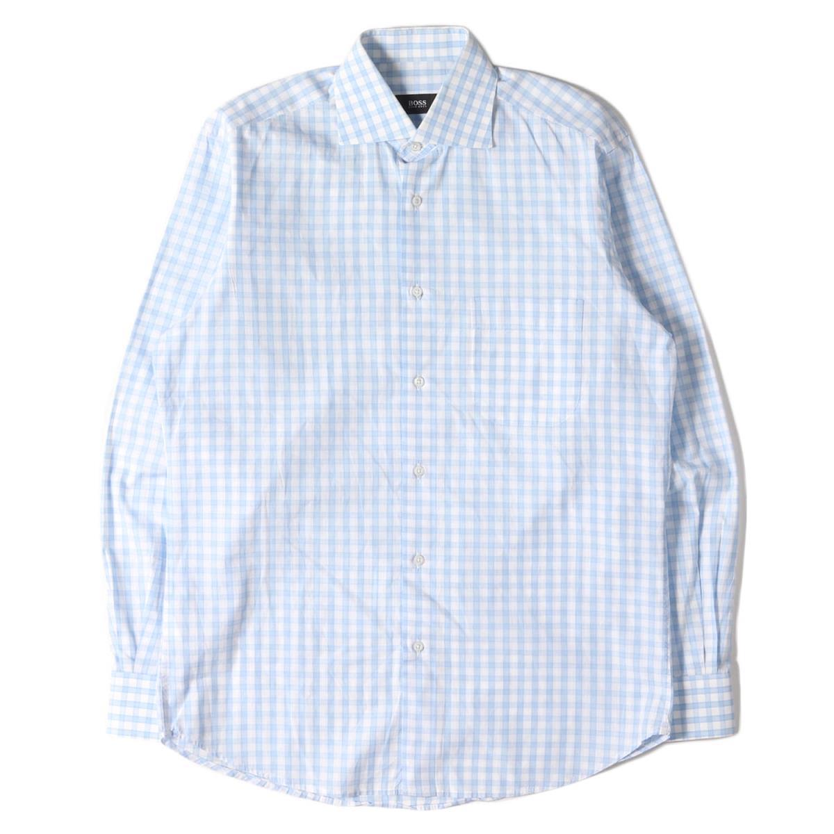 トップス, カジュアルシャツ HUGO BOSS 15(38) K2957