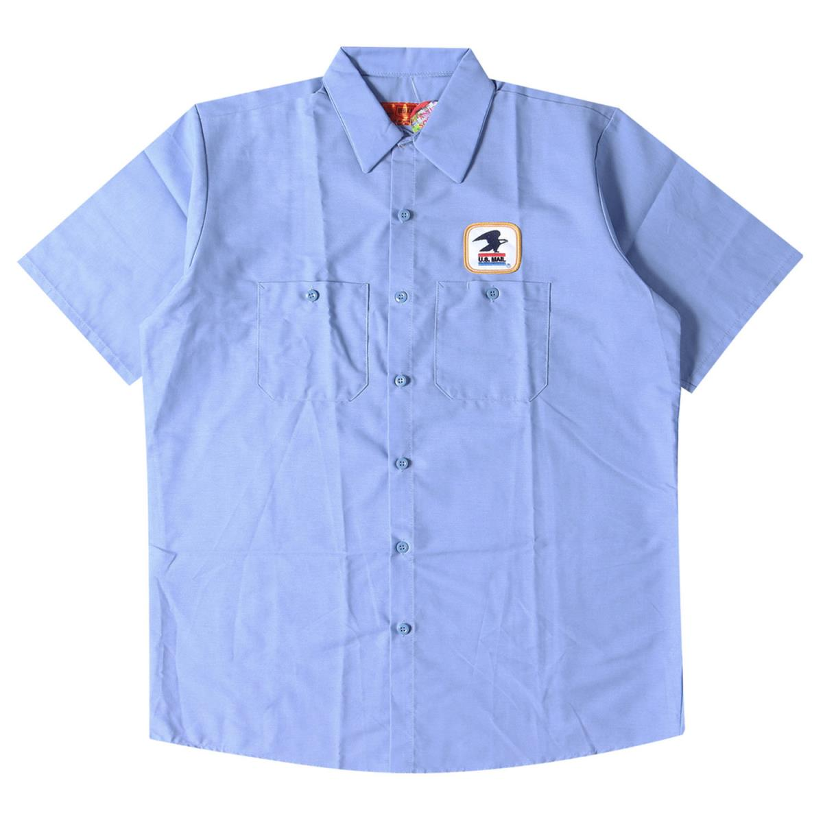 トップス, カジュアルシャツ Anti Social Social Club USPS Work Shirt 20SS L K2958