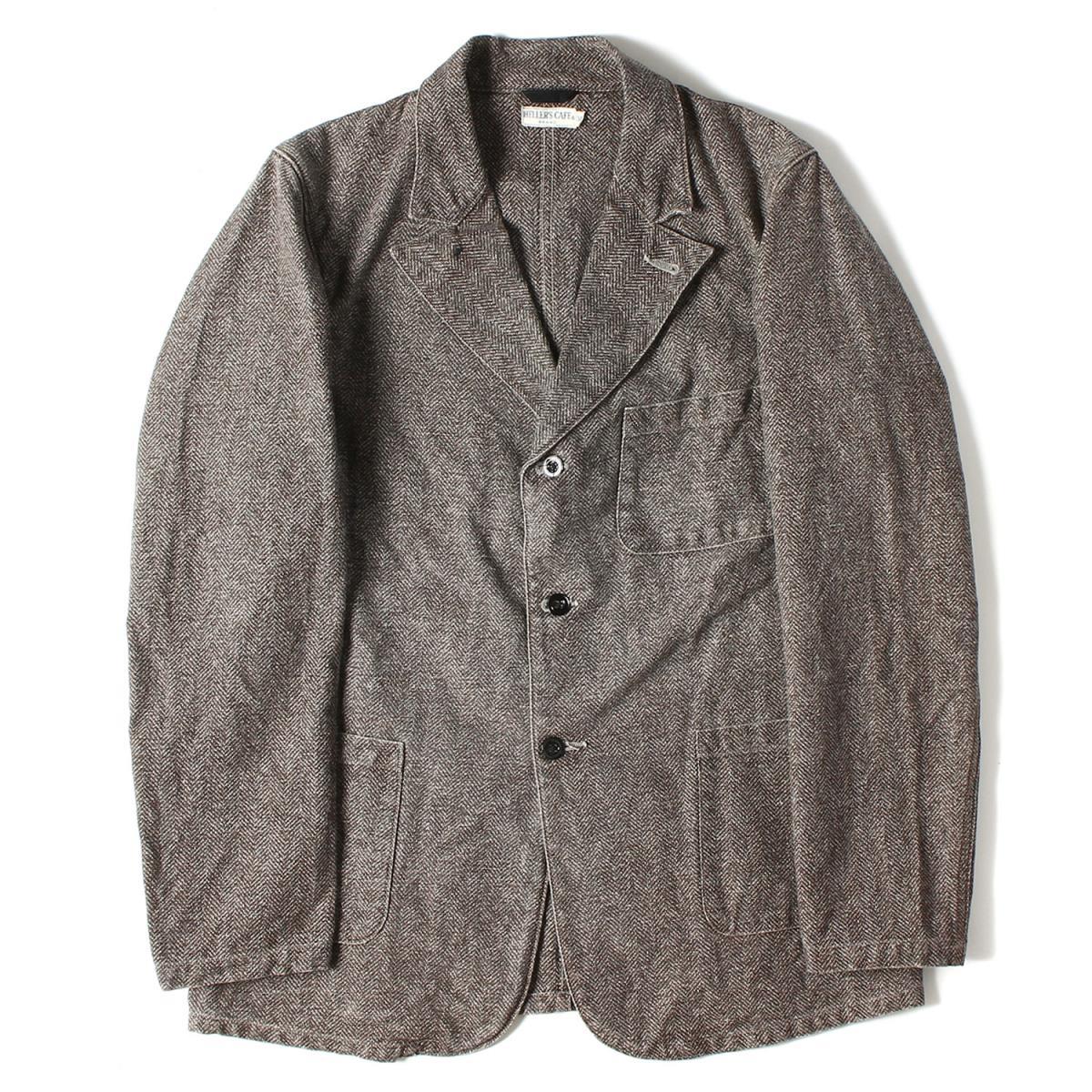 メンズファッション, コート・ジャケット HELLERS CAFE 34 XS K2771