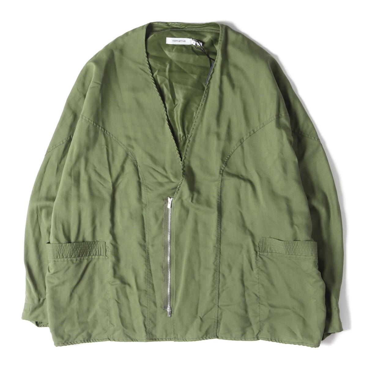 メンズファッション, コート・ジャケット NONNATIVE COWBOY GOWN RC SATIN 16SS 1 K2784