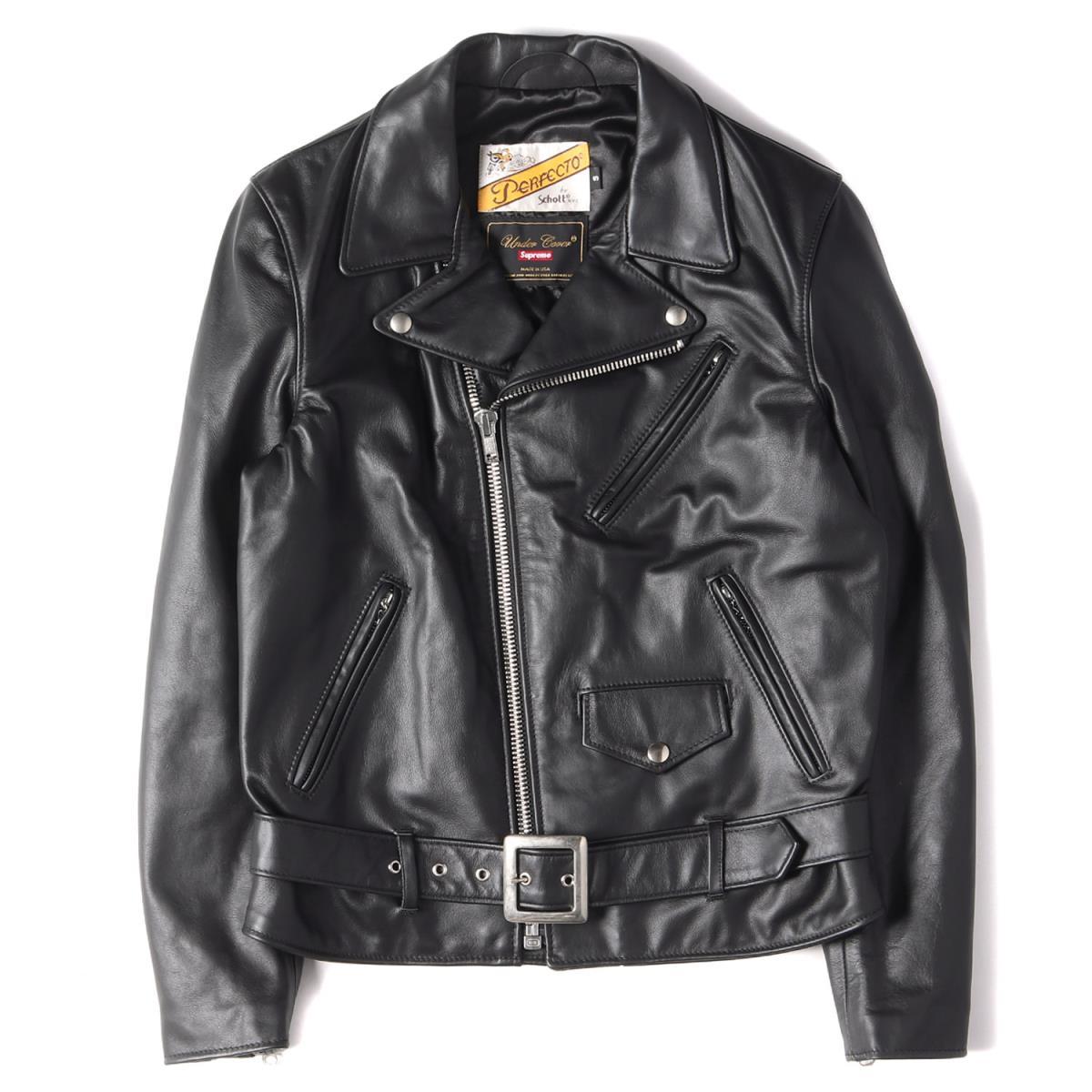 メンズファッション, コート・ジャケット Supreme UNDERCOVER Schott Leather Jacket 15SS S K2864