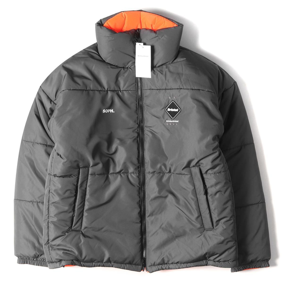 メンズファッション, コート・ジャケット FCRB REVERSIBLE BIG EMBLEM PADDED BLOUSON 19AW L K2912