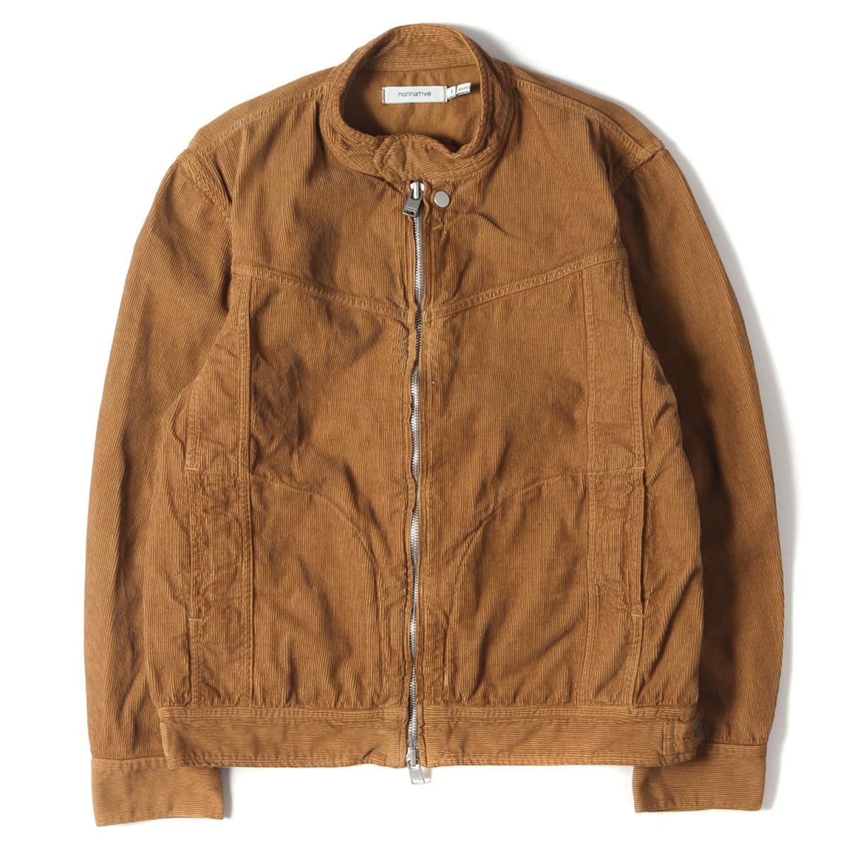 メンズファッション, コート・ジャケット NONNATIVE RIDER BLOUSON COTTON CORD OVERDYED 17SS 1 K2912