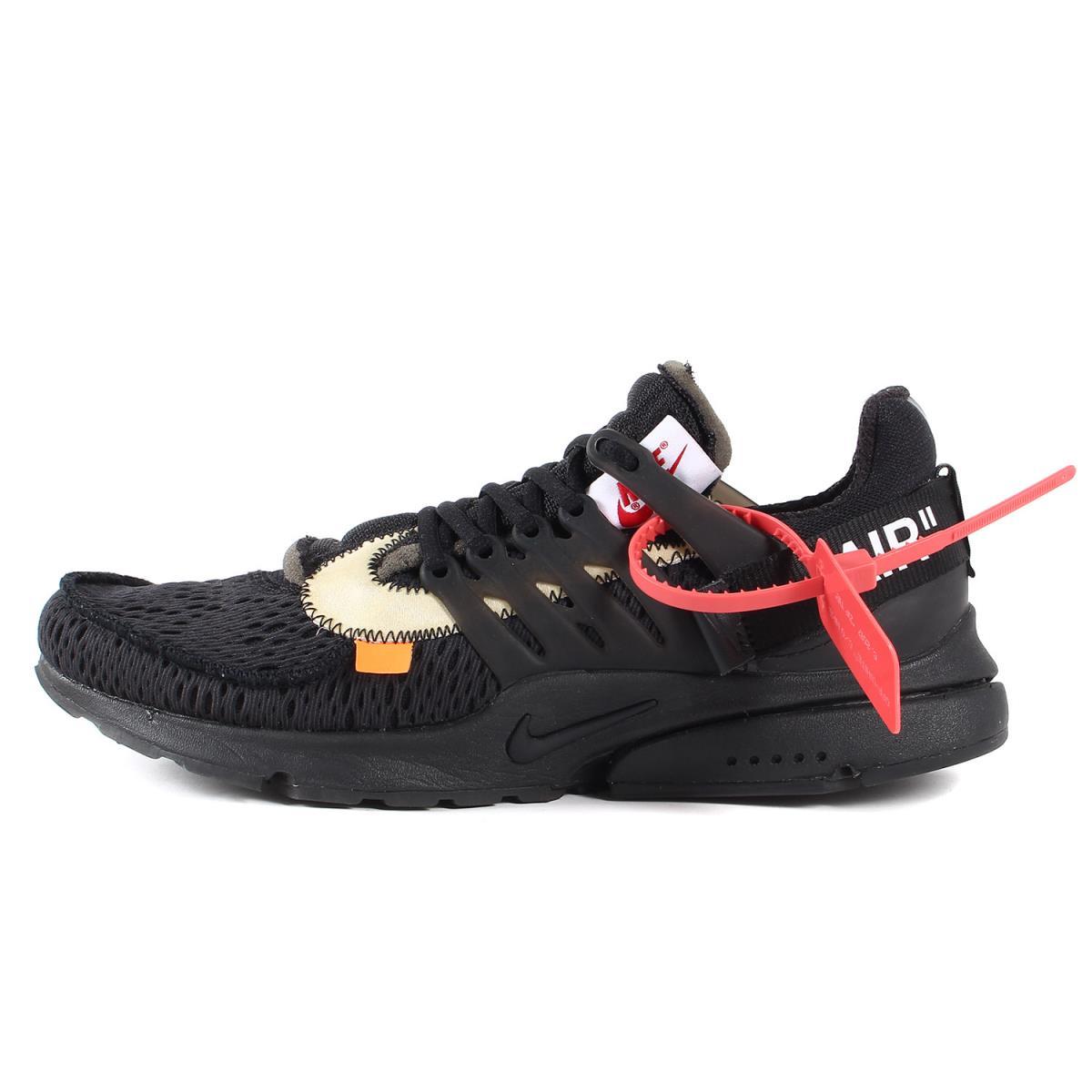 メンズ靴, スニーカー OFF-WHITE NIKE THE 10 : AIR PRESTO AA3830-002 18SS K2882