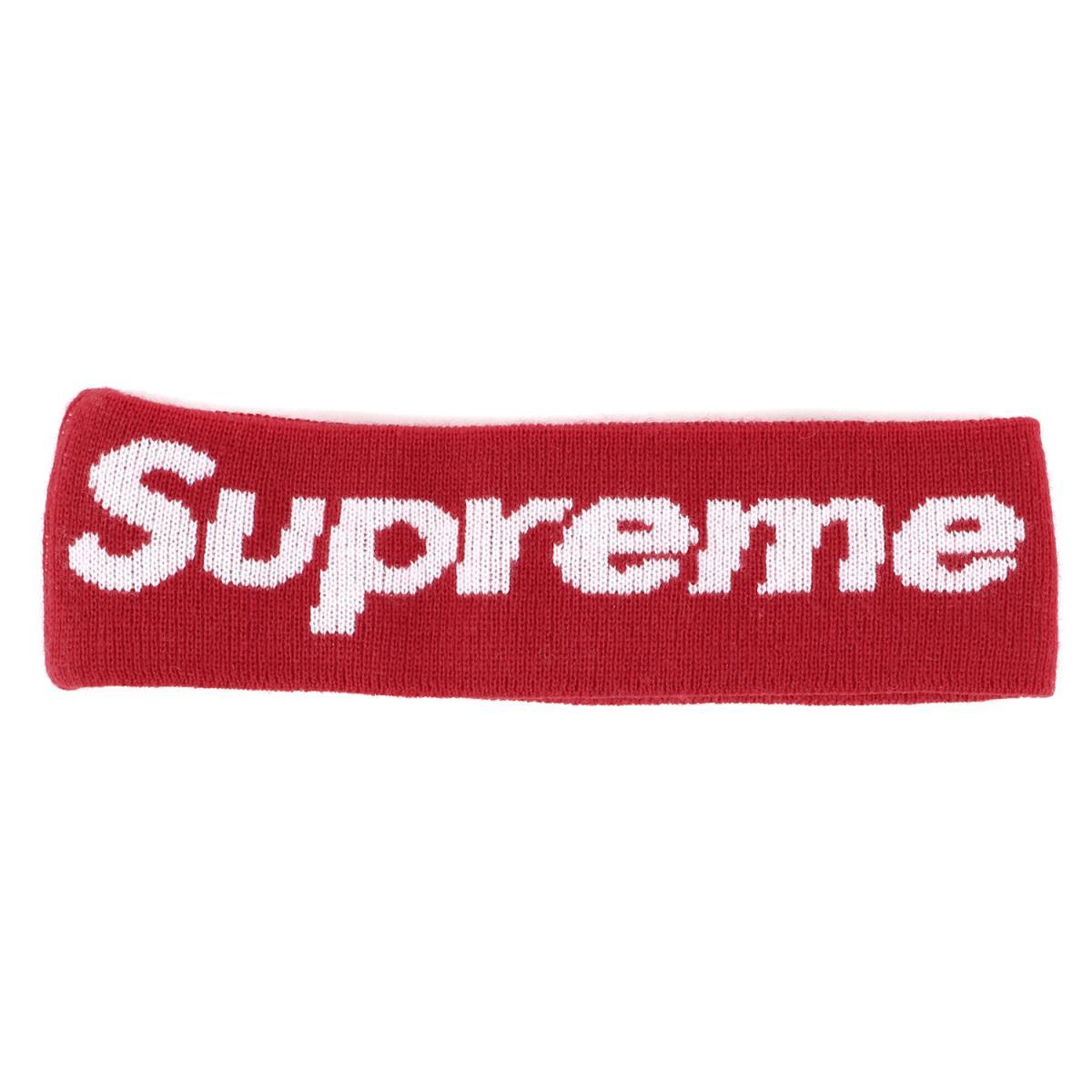 メンズ帽子, その他 Supreme 18AW NEW ERA New Era Big Logo Headband K2911