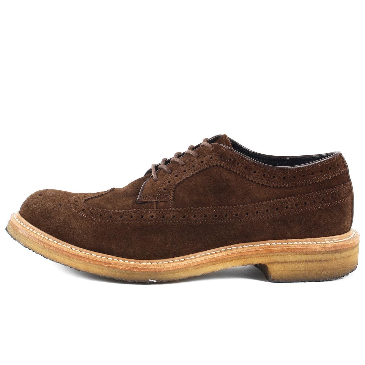 メンズ靴, ビジネスシューズ NONNATIVE REGAL GORE-TEX OFFICER SHOES COW SUEDE 25.5cm K2991