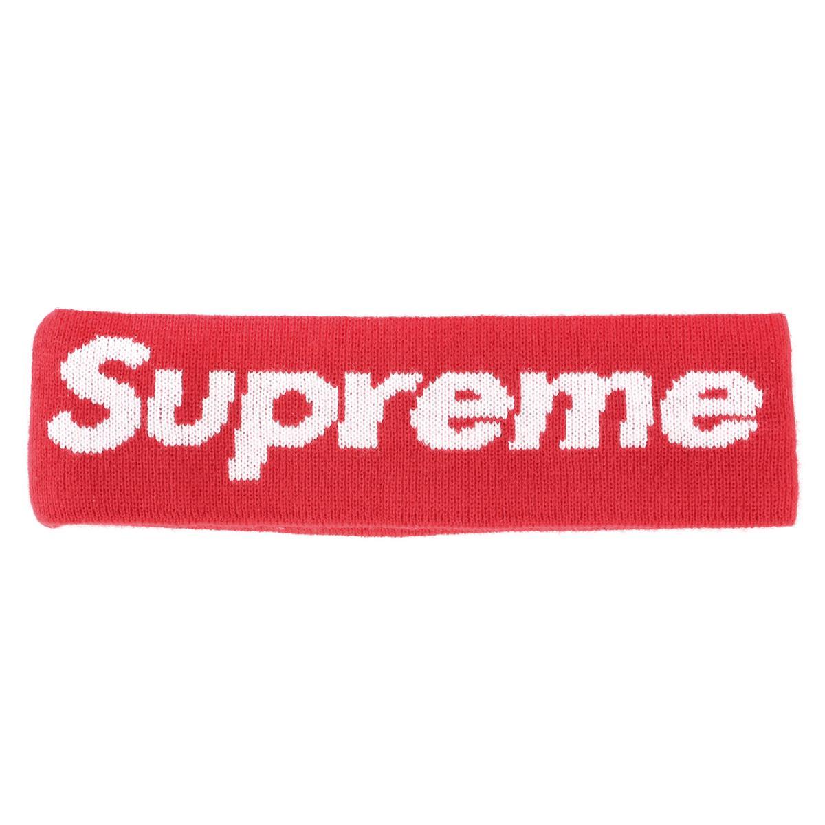メンズ帽子, その他 Supreme 18AW NEW ERA New Era Big Logo Headband K3007