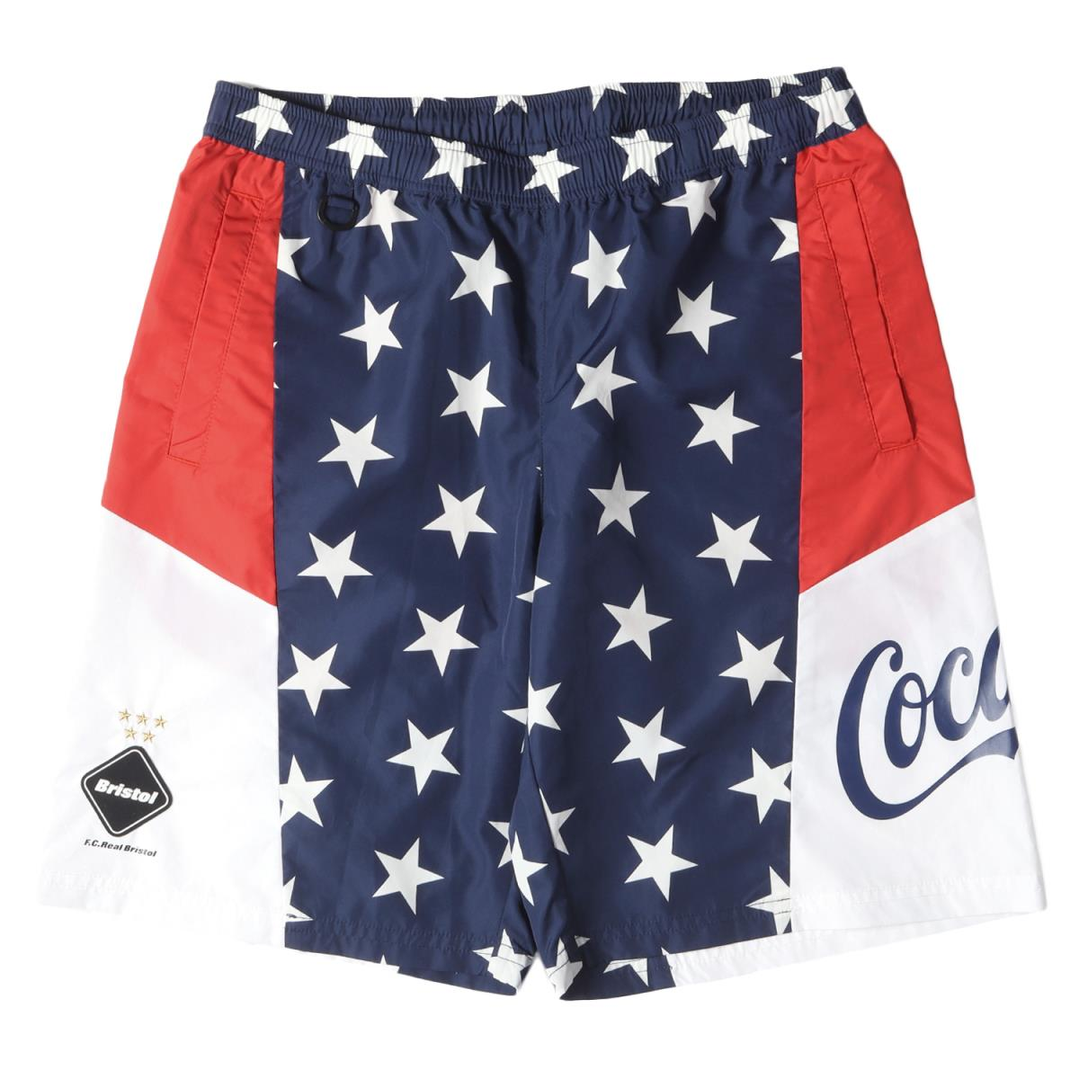 メンズファッション, ズボン・パンツ FCRB Coca-Cola MULTI PATTERN SHORTS 20SS M K3076