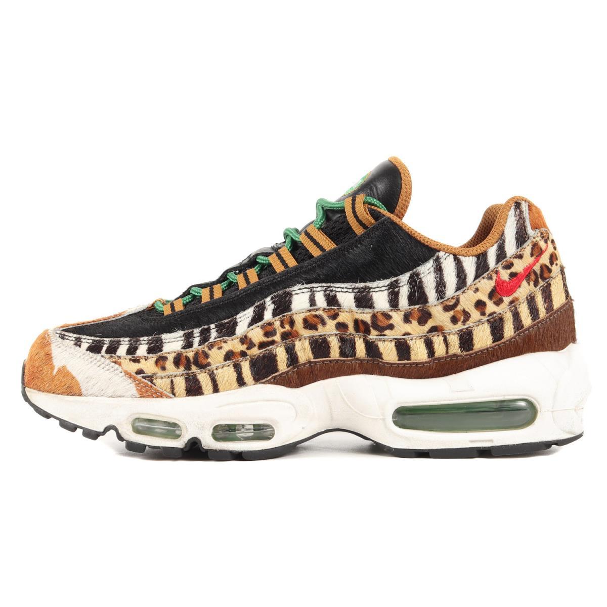 メンズ靴, スニーカー NIKE ATMOS AIR MAX 95 DLX ANIMAL PACK AQ0929-200 95 US8.5(26.5cm) K3067